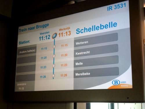 Segnalazione ritardo treno (minuti: 1)