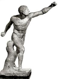 Agasias Gladiatore Borghese Louvre